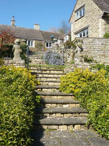 Manton Lodge steps