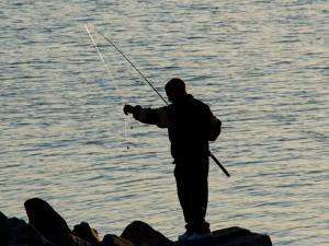 Fly fishing at Rutland Water