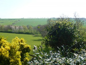 View of the valley from Manton Lodge