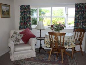 Garden apartment sitting room
