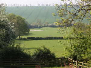 View of the Chater Valley