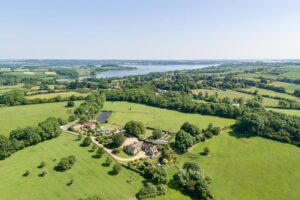 Manton Lodge from the air