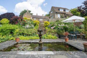 Garden ornamental pond